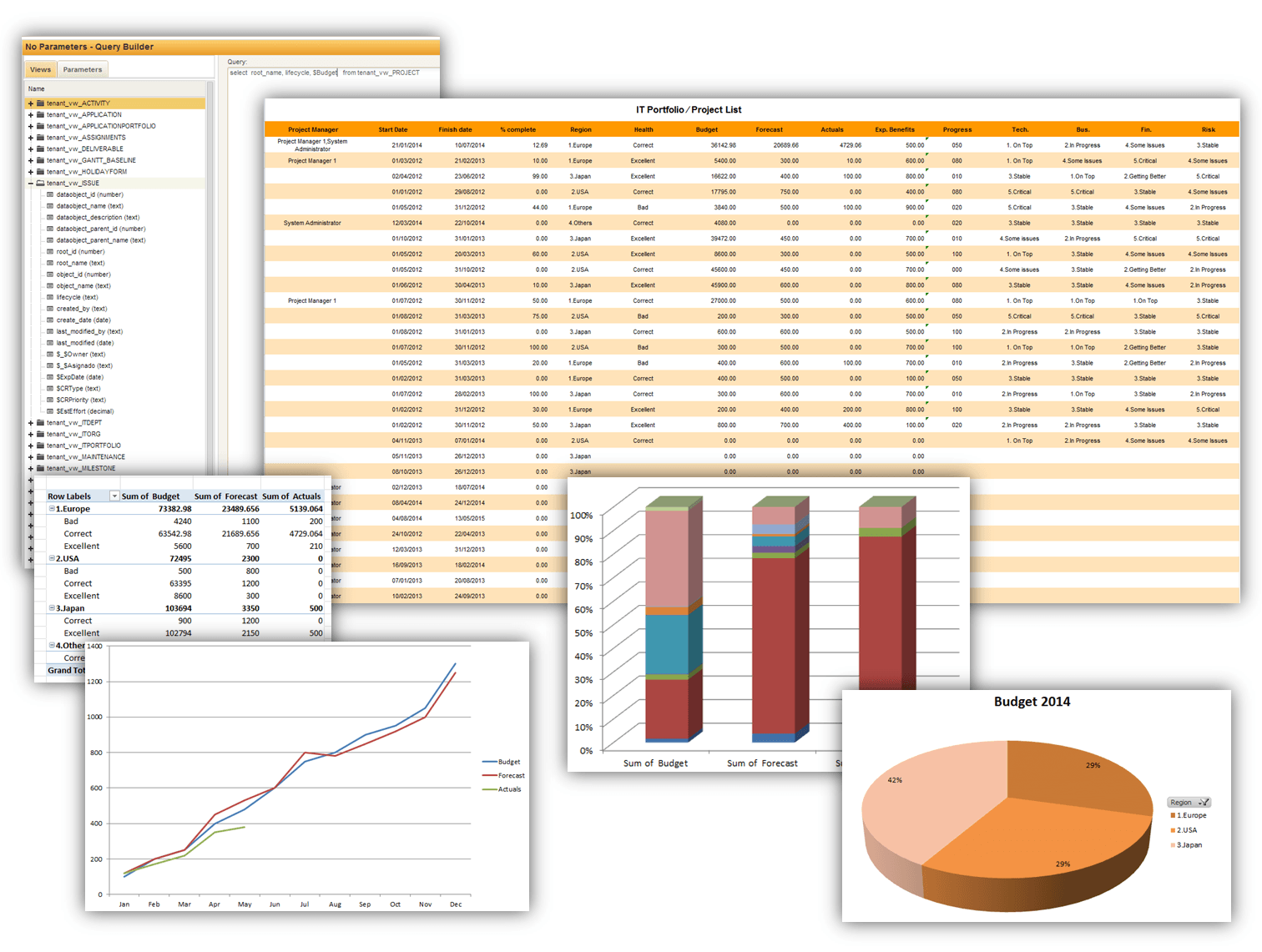 Image Triskell PPM-Factory Feature Dynamic Datamart for Reporting